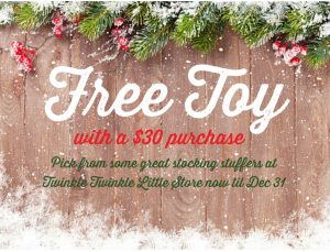 Free Toy with Purchase